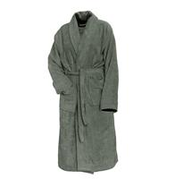 Linnick Pure Badjas Velours - olive green - XL