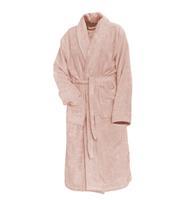 Linnick Pure Badjas Velours - light pink - XXL