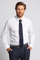 JP1880 Grote Maten zijden stropdas, Heren, blauw,