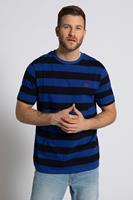JP1880 Grote Maten slaapshirt, Heren, blauw,