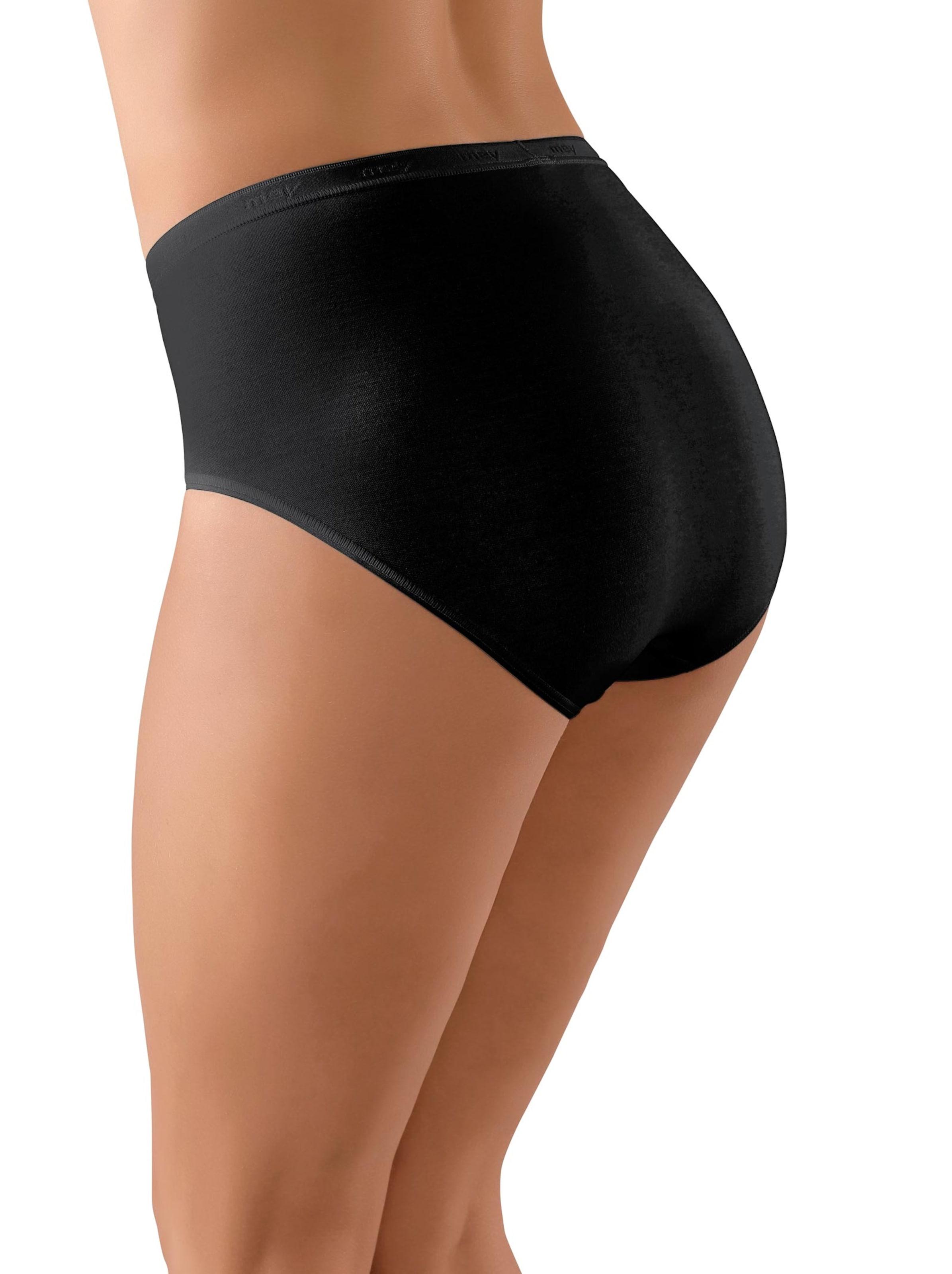 Mey Dames Slip zwart Größe