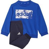 Adidas Essentials Sweatshirt en Broek - Bold Blue / White