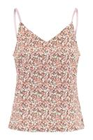 America Today Dames Singlet All-over Print Paars
