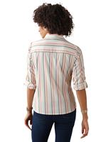 Your Look... for less! Dames Blouse apricot gestreept Größe