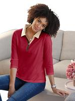 Your Look... for less! Dames Poloshirt rood Größe