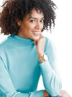 Your Look... for less! Dames Pullover aqua Größe