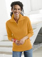 Your Look... for less! Dames Pullover oker Größe