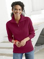 Your Look... for less! Dames Pullover wijnrood Größe