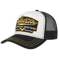 Stetson Retro Trucker Cap American Heritage Zwart