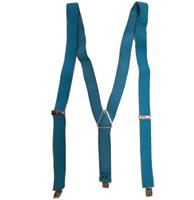 Fiftiesstore Stretch Bretels One Size Turquoise