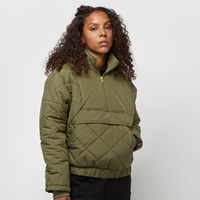 Urban Classics Ladies Oversized Diament Quilted Pull Over Jacket