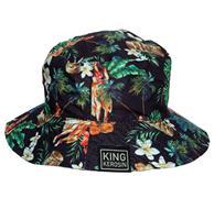 Fiftiesstore King Kerosin Bucket Hoed Tropical Vibes
