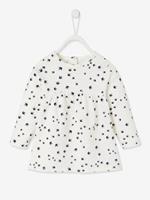 VERTBAUDET T-shirt met print babymeisje ivoor met print
