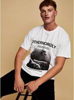 Topman - Otherworldly - T-shirt in wit