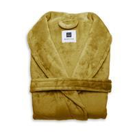 Zo Home Flanel Fleece Badjas Cara -  honey gold