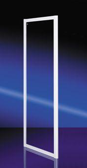 Plieger Class zijwand 3 mm glas 86/90x185 cm, wit