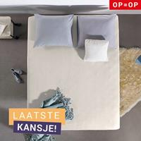 Home Care Hotel Jersey Hoeslaken Cream Creme 80/90/100 x 200/220