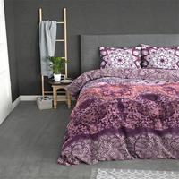 Sleeptime Elegance Isabel - Pink 1-persoons (140 x 220 cm + 1 kussensloop) Dekbedovertrek