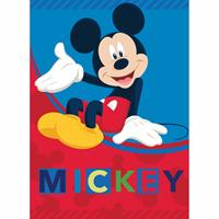 Disney Mickey Mouse Fleeceplaid - 100 X 140 Cm - Multi