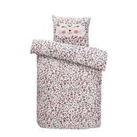 Comfort dekbedovertrek Mikki - roze - 120x150 cm