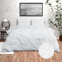 Zensation Nika - White 140 x 220 cm Dekbedovertrek