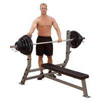 Body-Solid Body Solid Olympic Flat Bench Halterbank