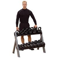 Body-Solid Dual Dumbbell & Kettlebell Rack
