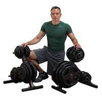 Body-Solid Olympic Plate Tree - BodySolid