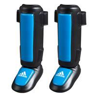 Adidas Pro Style Scheenbeschermer Zwart Blauw - L/XL