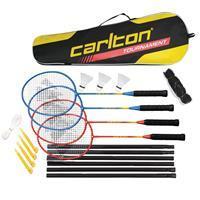 Carlton Tournament 4 Speler Badminton Set