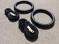 Lifemaxx Crossmaxx ABS Crossfit Ringen - Inclusief Straps