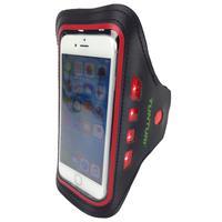 Tunturi LED Telefoon Sport Armband - Rood