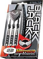 Harrows Black Jack Steeltip Darts Gram : 18 gram