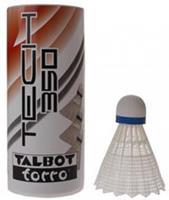 Talbottorro Talbot Torro badminton shuttles Tech 350 wit/blauw 3 stuks