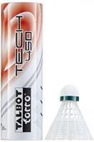 Talbottorro Talbot Torro badminton shuttles Tech 450 wit/groen 6 stuks