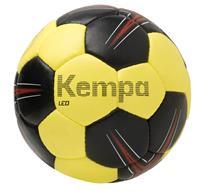 Kempa Leo Handbal - Maat 0 - Zwart / Limoen Geel / Rood