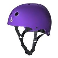 TRIPLE EIGHT Dual Certified with EPS Glossy Purple - Helm
