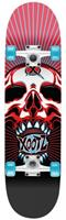Xootz skateboard Double Kick 79 cm Skull zwart/rood