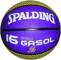 Uhlsport Spalding Basketbal NBA Pau Gasol LA Lakers paars/geel