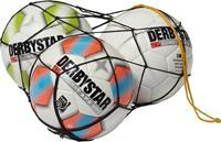 Derbystar Balnet 10 ballen - Zwart
