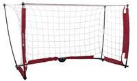 pure2improve voetbaldoel 152 x 91 cm wit/rood