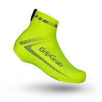 GripGrab RaceAero Hi-Vis Fiets Overschoenen Unisex - Fluo Geel - One Size