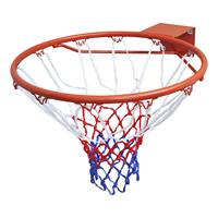 VidaXL Basketbal ring + net (Oranje)