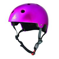 TRIPLE EIGHT Dual Certified with EPS Liner Pink - Helm