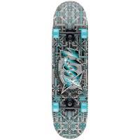 Xootz skateboard Double Kick 79 cm Industrial grijs/blauw