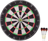 johntoy Dartbord 45x2 cm met 6 darts