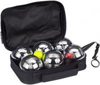 Get&go jeu de boules set VI 11-delig zilver