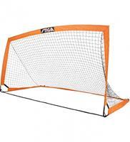 stiga voetbaldoel Match inklapbaar 270 x 150 x 150 cm oranje/zwart