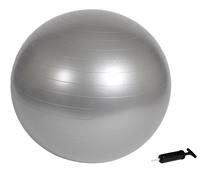 Virtufit Anti-Burst Fitnessbal Pro - Gymbal - Swiss Ball - met Pomp - Grijs - 55 cm