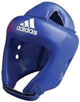 adidas hoofdbeschermer Rookie unisex blauw